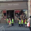 Shoe shop.