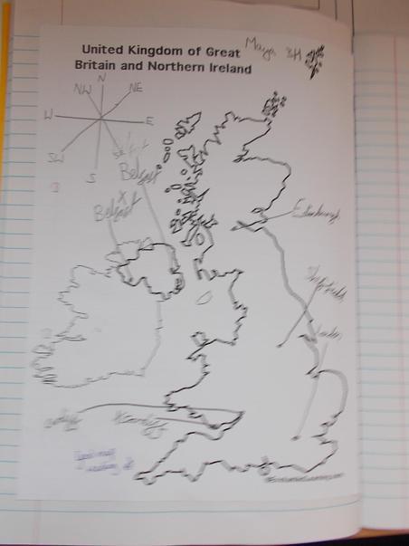Locating UK cities