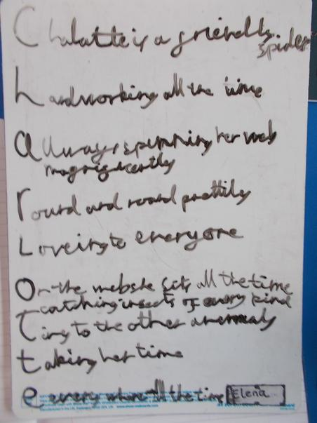 Charlotte's Web poem