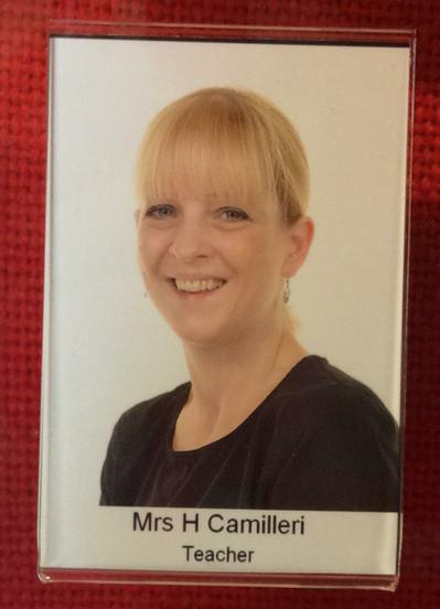 Mrs Camilleri.  PPA Teacher.