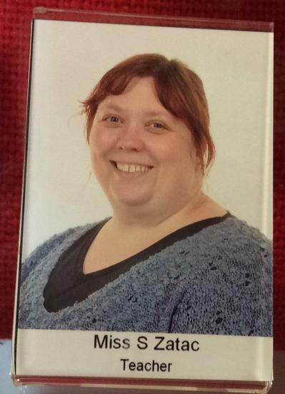 Miss Zatac.  Year 4 Teacher.
