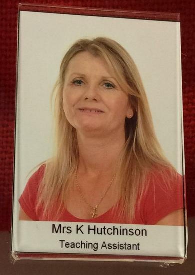 Mrs Hutchinson.  Early Years T.A.