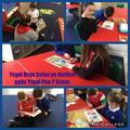 Reading with dosbath 1 Ysgol Pen-Yr- Groes