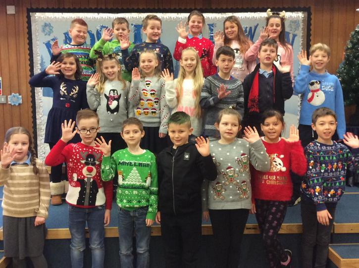 Our Christmas jumper photo!!