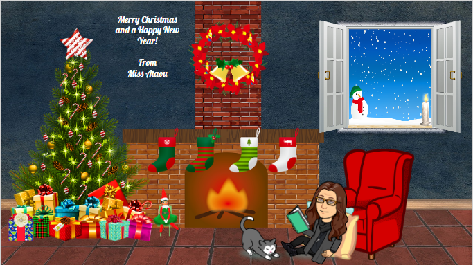 I will be adding your Christmas messages here. Go to Google Classroom to add your message.