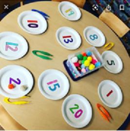 maths plates