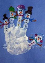 snowman hand