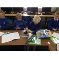 Creating their Mary Rose boat