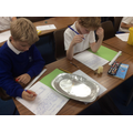 Investigating materials for their Mary Rose boat