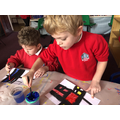 Our Mondrian project.