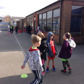 Football skills with Blackpool FC