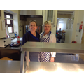 Mrs. Waite & Mrs. Watters, our kitchen staff