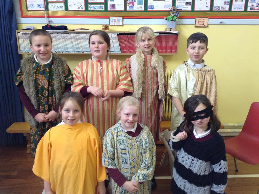 Ready to retell the story of Zaccheus