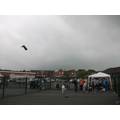 Clouds hover above our Summer Fair as Reece throws