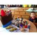 Wow - Noah's knitted Ark! Can you see the Toucans?