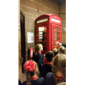 Architect of the Cathedral designed the phone box