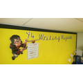Our wizardly writing display