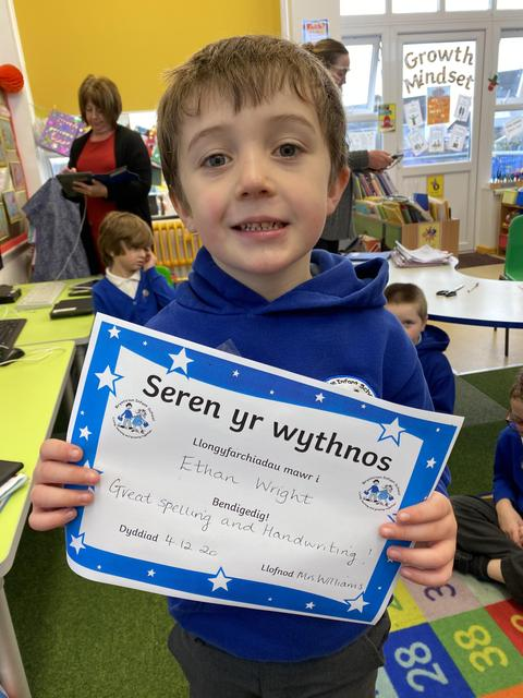 Well done Ethan! I am very proud of you.