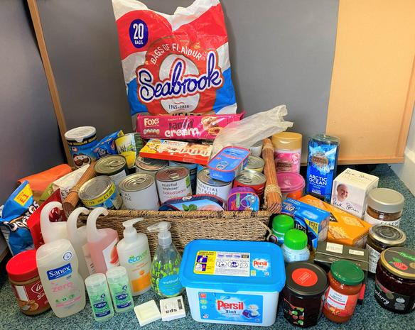 Thank you 1Ov for all your kind donations to the Epping Forest Food Bank!