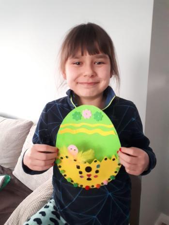 A lovely Easter (egg) craft!