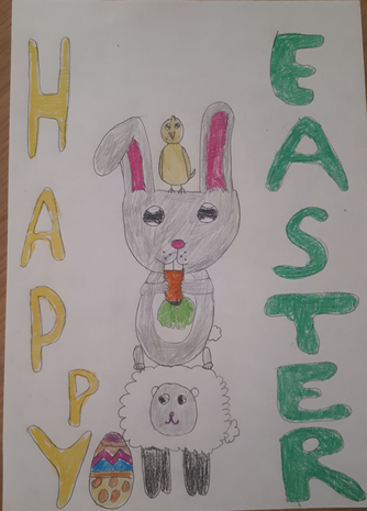 Happy Easter from Hania