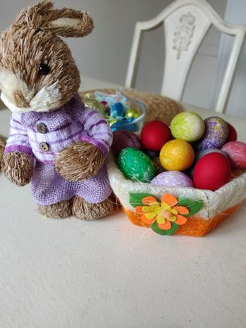 The bunny likes them too