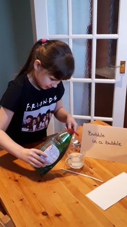 Why not try a fun experiment like Hania...