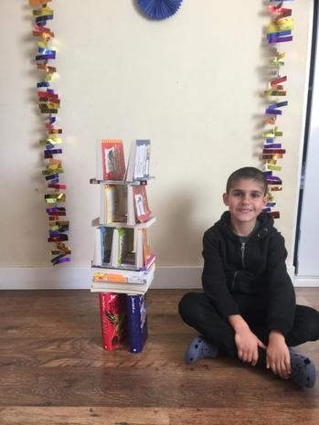 Alex's Easter Challenge! Build a tower