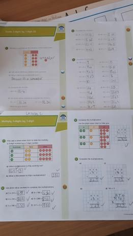 Some of Hania's maths...