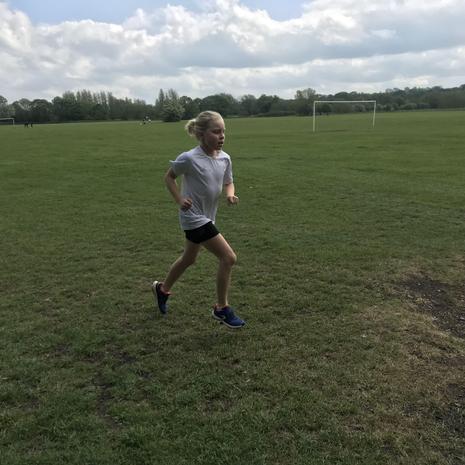 Still running...Go Polly!