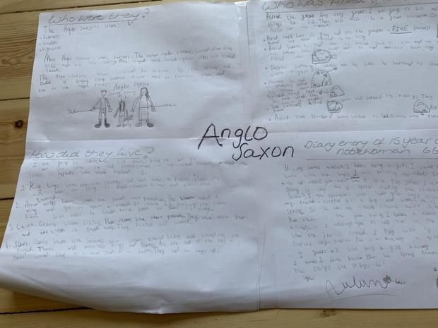 Anya's Anglo-Saxon poster