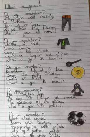 What a year! Polly's poem about year 4