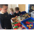 The children loved creating their own experiment