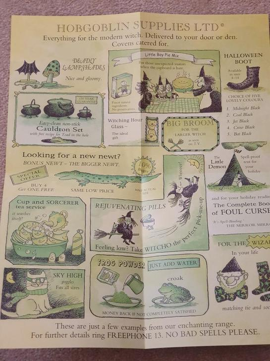 Catalogue Page to the Witch