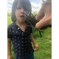 A crayfish!