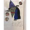 A great drawing of the witch!