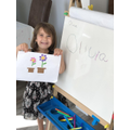 Shape pictures and name writing