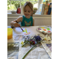 Painting a Spring picture