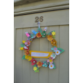 A lovely Easter wreath