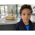Homemade cheesecake- YUMMY!