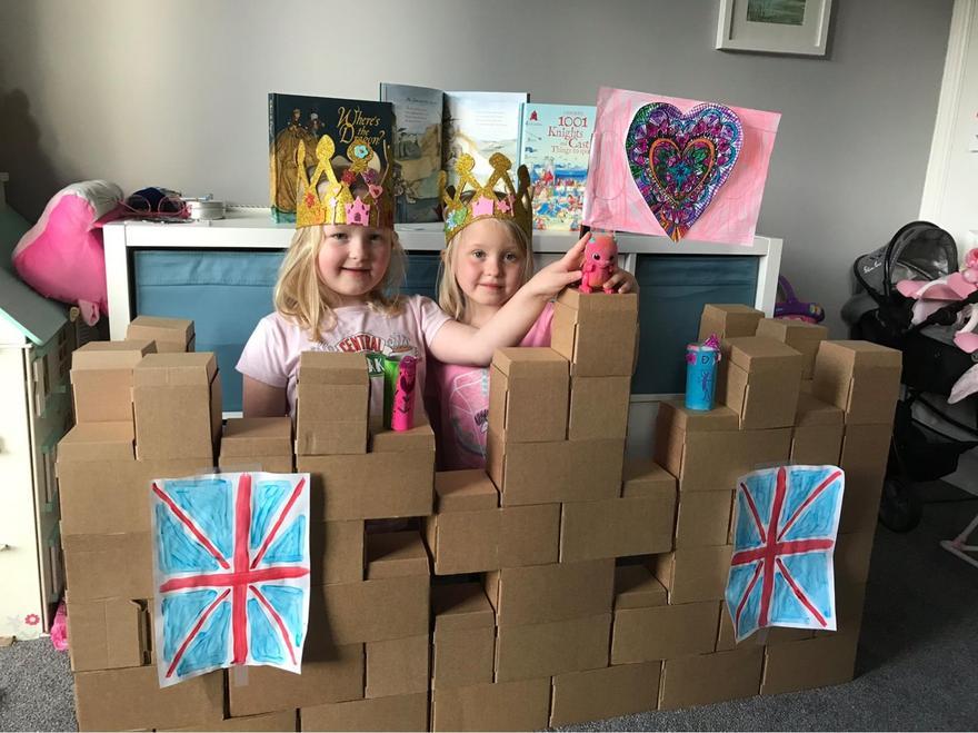 Great castle girls.