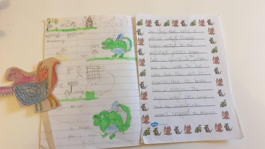 Amazing story writing.