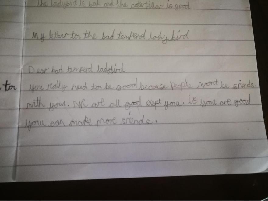 Super writing.
