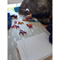 Counting pegs in twos