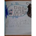 Alfie's  wonderful writing
