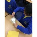 making plastic in science