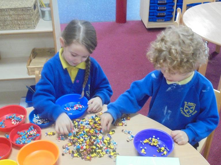 Independently Sorting The Counting People