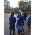 Using our pinhole cameras