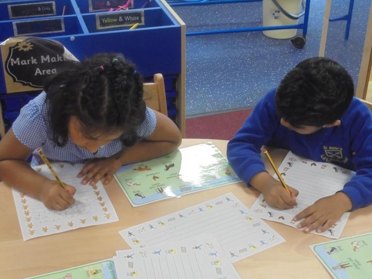 Writing the Story and Key Words
