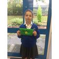 The children made their own Saxon coin pouch